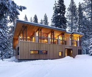 Stunning Mountain House by John Maniscalco Architecture:The Sugar Bowl Residence
