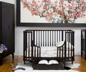 Safe and simple transition crib