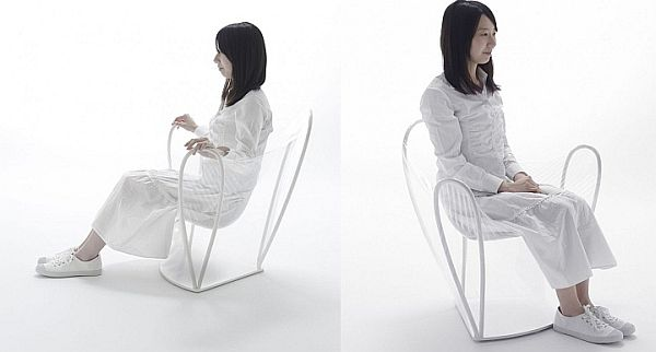 Nice Unusual Transparent Chair Designed By Nendo Nice Design