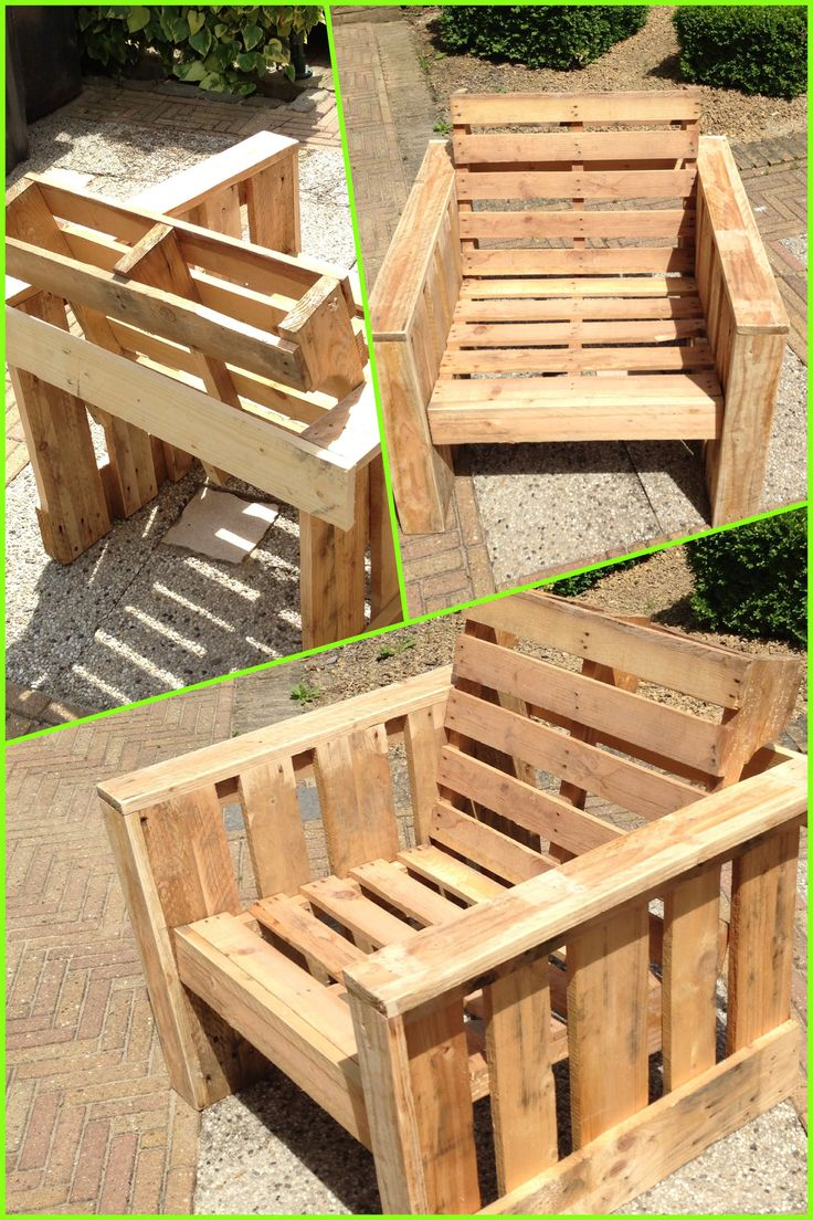 How to choose and look after your wooden garden furniture for Making things with wooden pallets