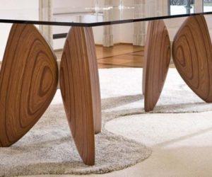 Butterfly Vanessa Dining Table by Bartoli