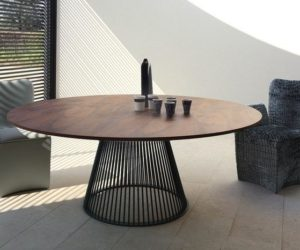... 8 Modern Dining Tables With Round Tops And Stylish Bases