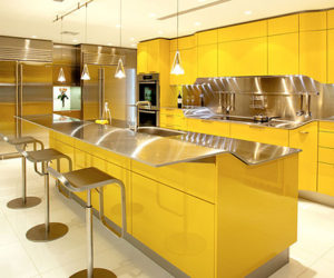 Great Sparkling Yellow Kitchen Design By Snaidero Amazing Ideas