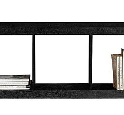 Simple Black Bookcase