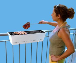 Bruce- Practical Balcony Barbecue Grill