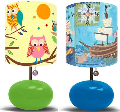 Marvelous Colorful Kidu0027s Lamps