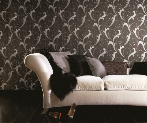 interior design modern living room wallpapers   Modern Textured Wallpapers by Graham & Brown