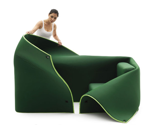 Awesome Contemporary Convertible Sofa By Emauele Magini