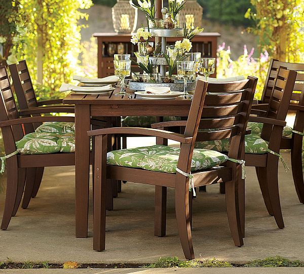 Outdoor Patio Furniture Virginia: Extending Dining Table For Outdoors