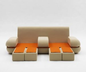 Extendable Sofa by Matali Crasset