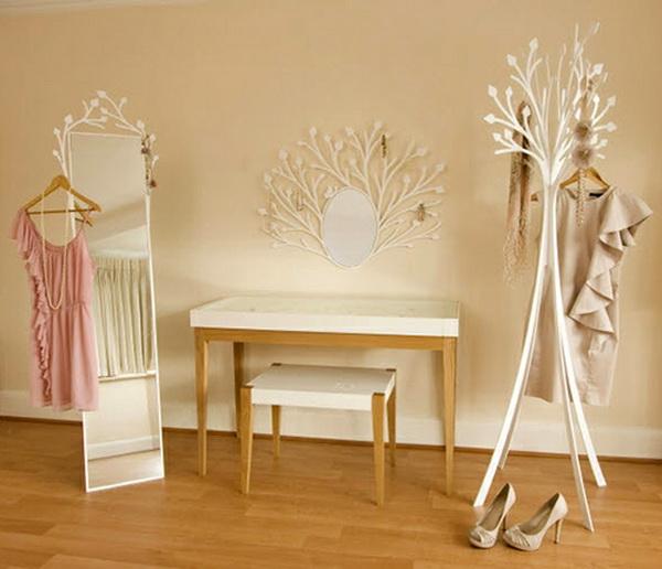 Delicate And Feminine Design Dressing Room Furniture From Eden