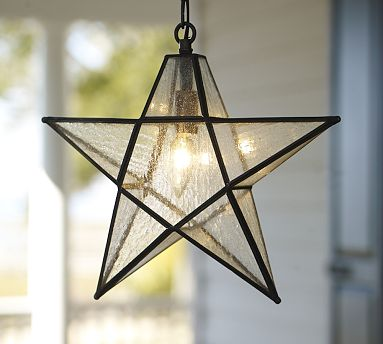 Glass star pendant for the outdoors view in gallery mozeypictures Image collections