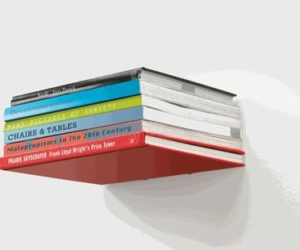 """Conceal"" bookshelf by Umbra"