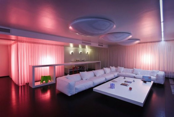 Great Magic Lighting Interior Design Apartment