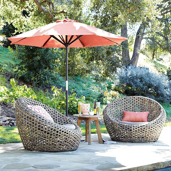 Ordinaire Modern Nest Chair For Outdoor Use
