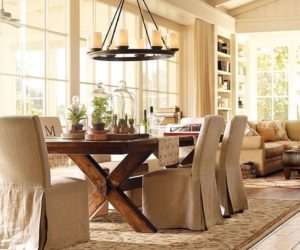 Comfortable Napa chairs with optional slipcovers