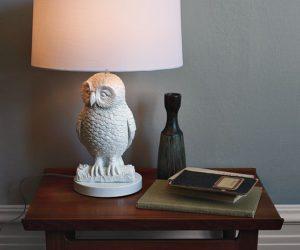 Amazing Owl Table Lamp Design