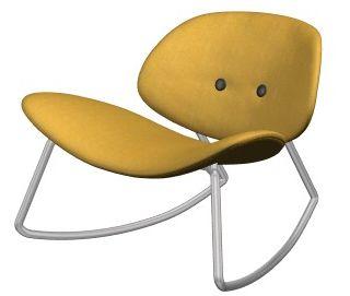 Fun Yellow Rocking Chair Amazing Ideas