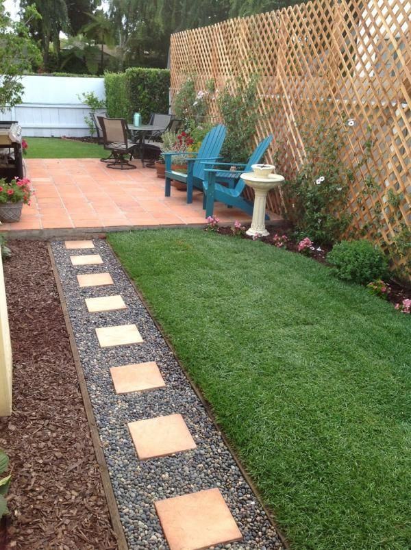 How to make your garden look bigger without expanding for Small backyard landscape design