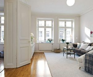 A very spacious apartment in Linnaeus featuring a charming interior