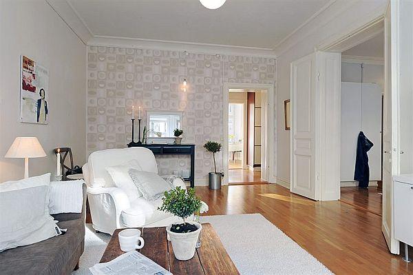 Spacious modern apartment in linnaeus town for Decoracion casas 70m2