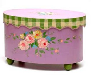 Hand painted Furniture by Jane Keltner