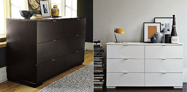 These 6 Pieces Of Colorful Furniture Are Absolute Must Haves: Minimalist 6-drawer Dresser