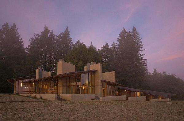Stunning house in bodega california by cutler anderson for Anderson architects