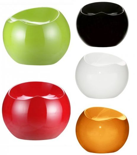 Modern And Colorful Drop Stool