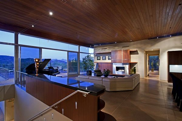 Heavenly residence in paradise valley - Residence monks shadow kendle design collaborative ...