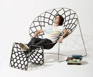 Incredibly relaxing Nook chair by Henry Sgourakis