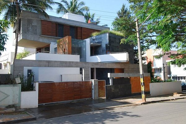 Beautiful home upgrade in india by architecture paradigm for Best architecture design for home in india