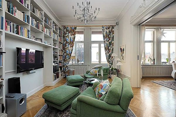 beautiful traditional swedish apartment - Traditional Apartment Decorating