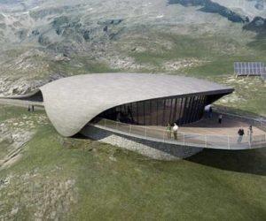 Amazing Cobra like Solar Building by Zechner & Zechner