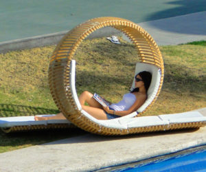 Original Double Patio Lounger Design by Victor M. Aleman