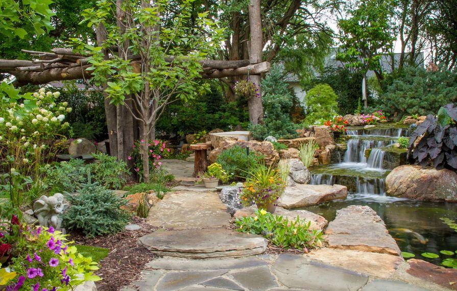How To Design And Create A Beautiful Rock Garden on Rock Backyard  id=41327