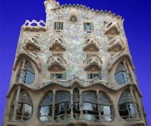 Fairy- Tale Casa Batllo by Antoni Gaudi