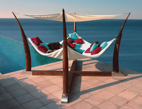 Captivating Luxurious Cocoon Hammock Pictures