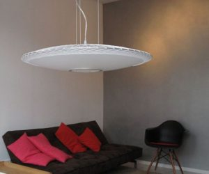 Impressing Disque Pendant Lamp