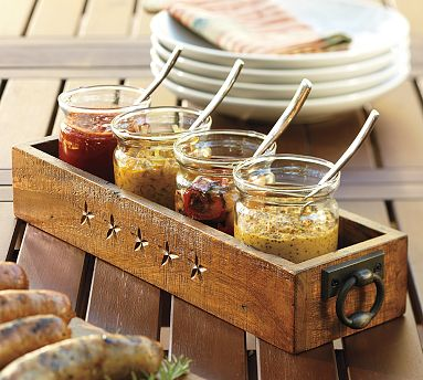 Range Rectangular Condiment Set from Pottery Barn