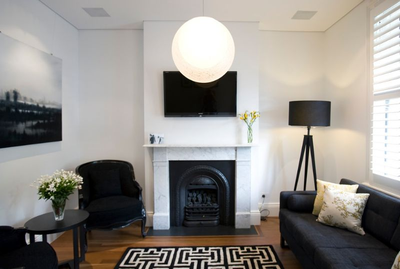 8 ways to lighten up a dark and gloomy space for Living room wall light fixtures