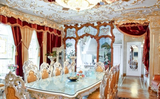 Gorgeous Luxurious Rococo Style Apartment Design by Igor Gremitsky on art nouveau home design, gothic home design, art deco home design, colonial revival home design, edwardian home design,