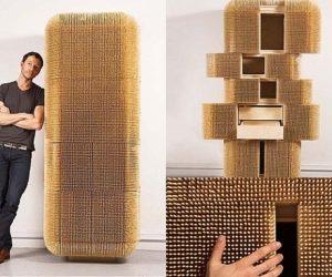 Elaborate Magistral Cabinet by Sebastian Errazuriz