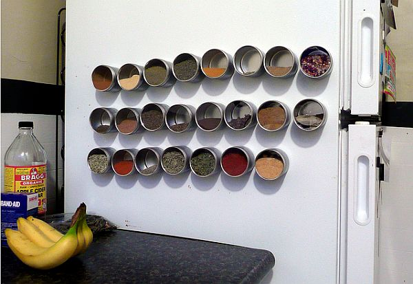 How to make your kitchen an accident free area for Carousel spice racks for kitchen cabinets