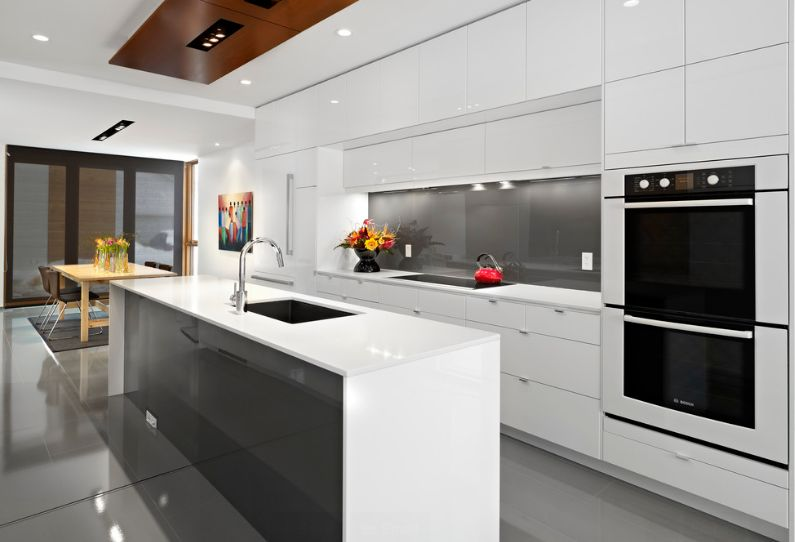 Minimalist Trends U2013 White Kitchen Cabinets For A Chic And Simple Look
