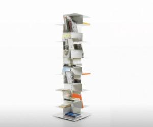 Librespiral bookcase by Gerardo Mari