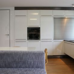 Modern White Kitchen Cabinets one color fits most: black kitchen cabinets
