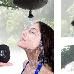 Handy Pocket Shower For Outdoor Adventures