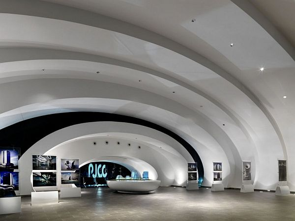 Modern Pod Pavilion By Studio Nicoletti Associate Home Design Ideas