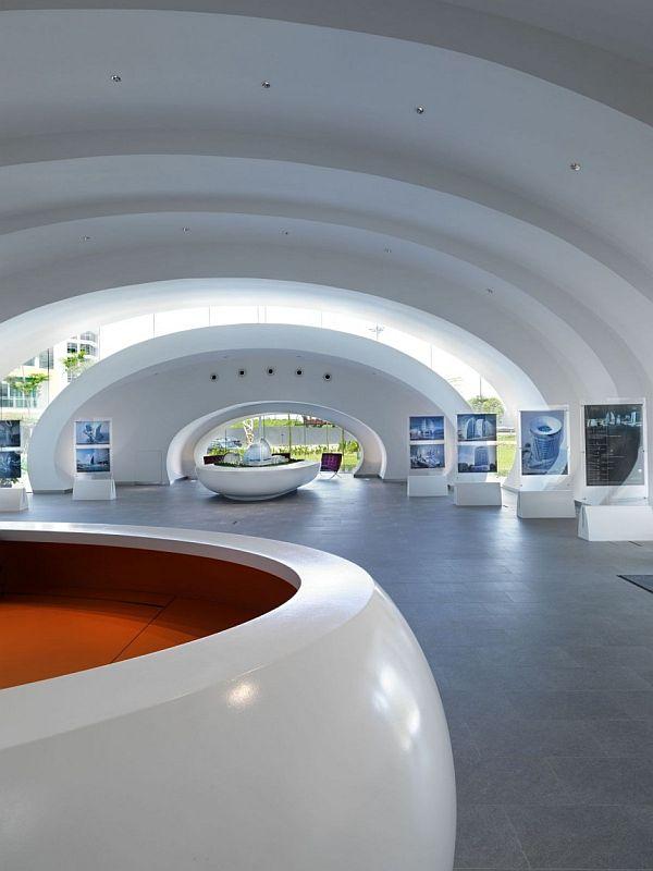 Modern Pod Pavilion By Studio Nicoletti Associate